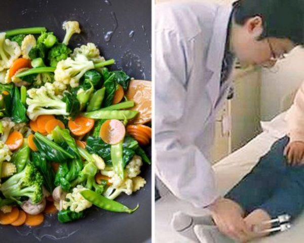 You'll be shocked, 30 years into being a vegetarian, now at risk of being Paralyzed