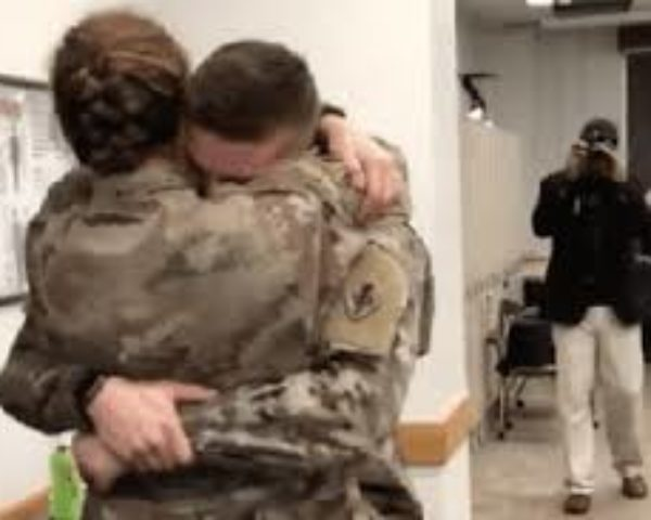 This Video Is Going Viral, Army Couple's Emotional Surprise Reunion